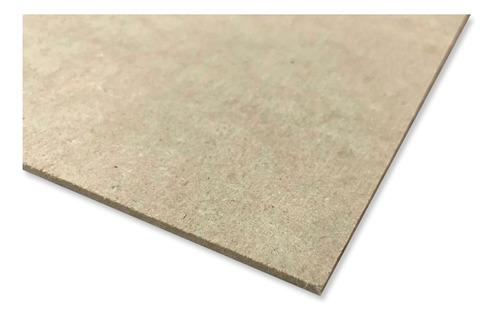 lamina panel tablero de mdf 3mm 60cm x40cm (10pzs)