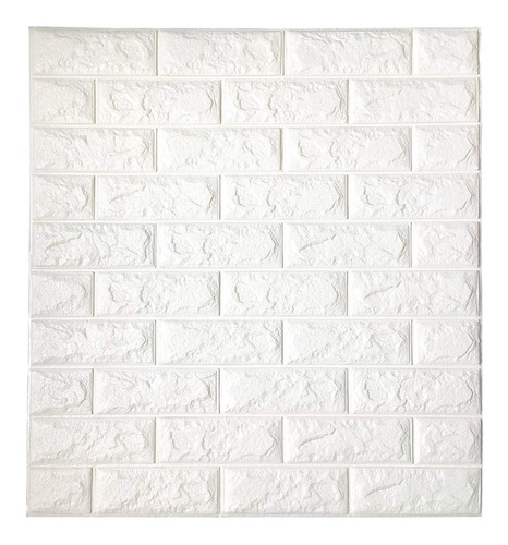 lamina pared 3d adhesiva panel tipo ladrillo