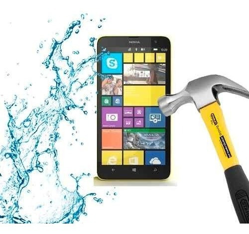 lamina protector anti-shock anti-golpe nokia lumia 1320