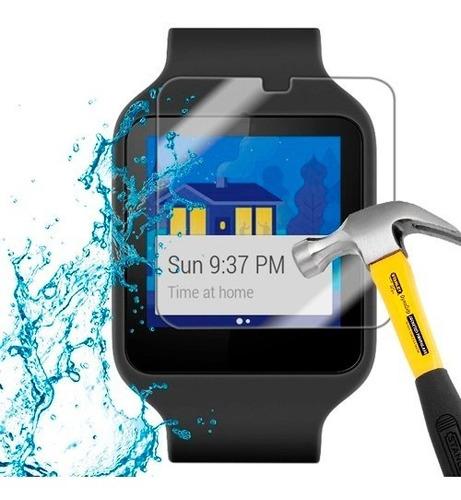 lamina protector anti-shock anti-golpe sony smart watch 3
