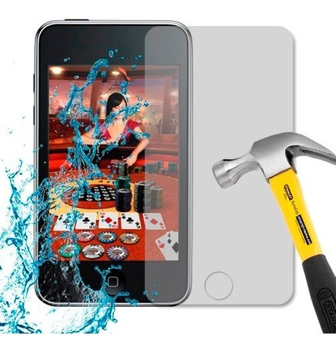 lamina protector antishock antigolpe apple ipod touch 3g