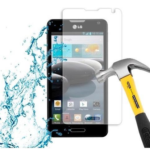lamina protector de pantalla anti-shock anti-golpe lg f6