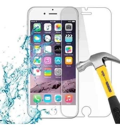 lamina protector de pantalla anti-shock apple iphone 6 6s