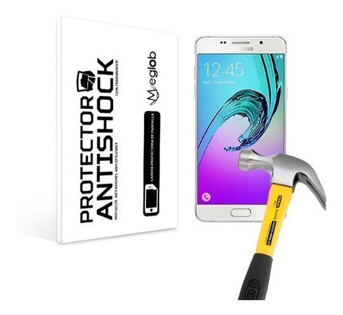 lamina protector de pantalla anti-shock samsung a5 2016
