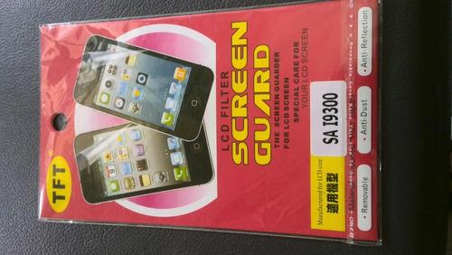lamina protector de pantalla s3 i9300