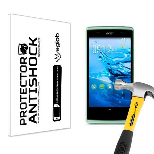 lamina protector pantalla anti-shock acer liquid z500