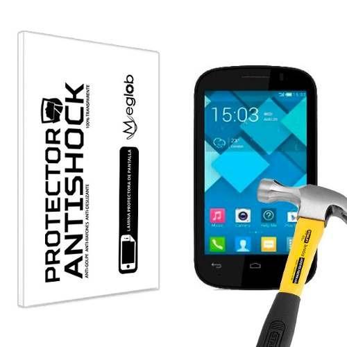 lamina protector pantalla anti-shock alcatel pop c3
