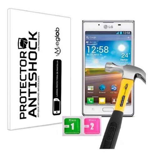 lamina protector pantalla anti-shock anti-golp lg optimus l7