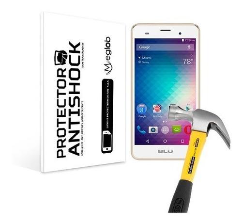 lamina protector pantalla anti-shock anti-golpe blu dash m2