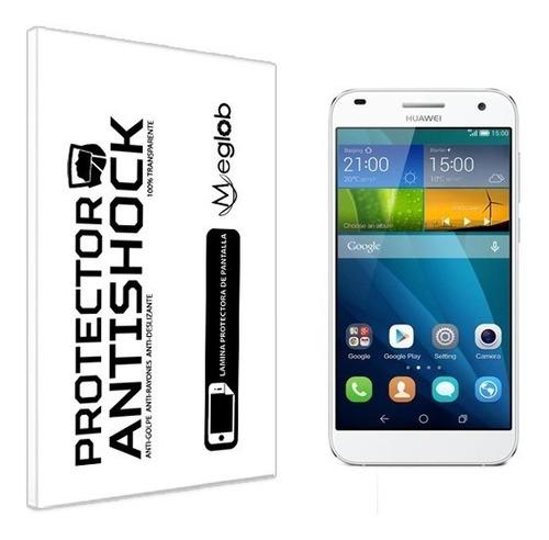 lamina protector pantalla anti-shock anti-golpe huawei g7