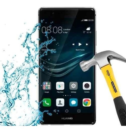 lamina protector pantalla anti-shock anti-golpe huawei p9
