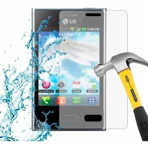 lamina protector pantalla anti-shock anti-golpe lg l3 e400
