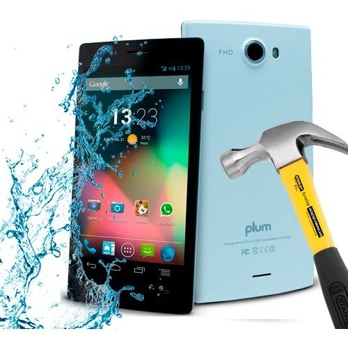 lamina protector pantalla anti-shock anti-golpe plum volt 3g