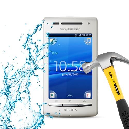 lamina protector pantalla anti-shock anti-golpe xperia x8