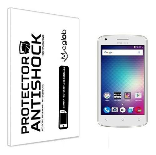 lamina protector pantalla anti-shock blu neo x mini
