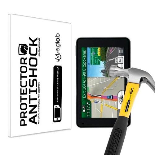 lamina protector pantalla anti-shock garmin nuvi gps 3490lmt