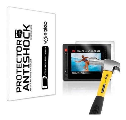 lamina protector pantalla anti-shock go pro hero 4