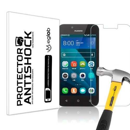 lamina protector pantalla anti-shock huawei y5