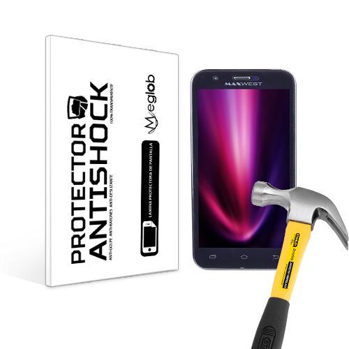lamina protector pantalla anti-shock maxwest orbit 6200