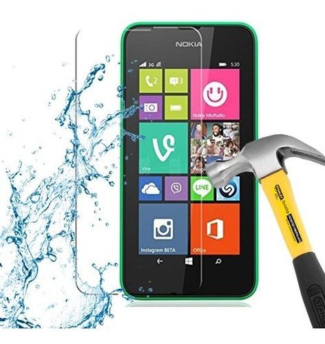 lamina protector pantalla anti-shock nokia lumia 530