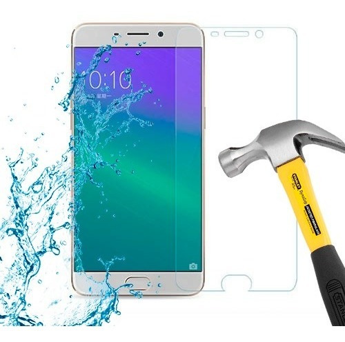lamina protector pantalla anti-shock oppo r9