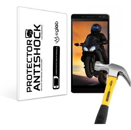 lamina protector pantalla anti-shock sky elite 5.0 l
