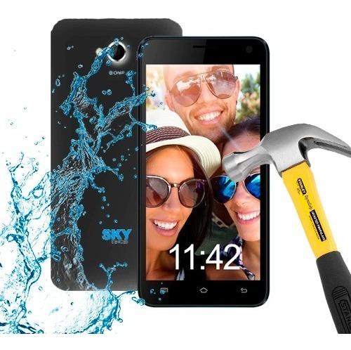 lamina protector pantalla anti-shock sky platinum 5.0 w