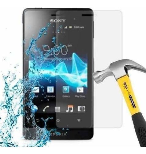 lamina protector pantalla anti-shock sony xperia go