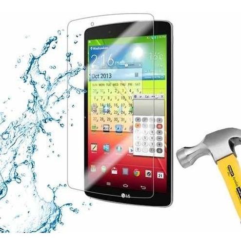 lamina protector pantalla anti-shock tablet lg g pad f 8.0