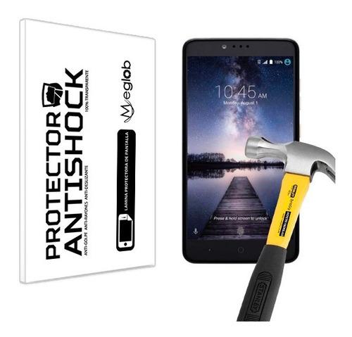 lamina protector pantalla anti-shock zte max pro