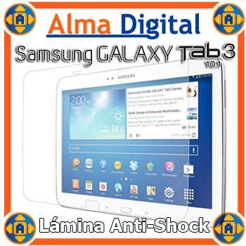 lamina protector pantalla antigolpe samsung tab3 10 antishoc