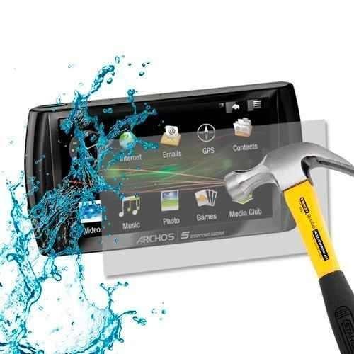 lamina protector pantalla antishock archos 5 internet tablet