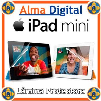 lamina protector pantalla ipad mini transparente antihuella