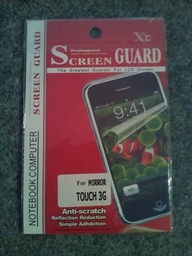 lamina protector pantalla ipod touch 3g original