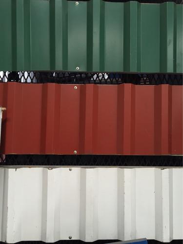 lamina rectangular esmaltada #28 366x107 ¢10500