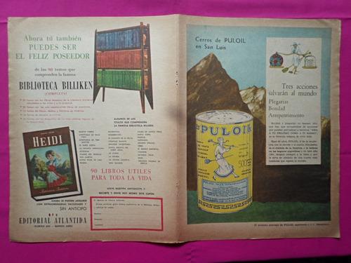 lamina revista billiken juego letras, silabas y palabras