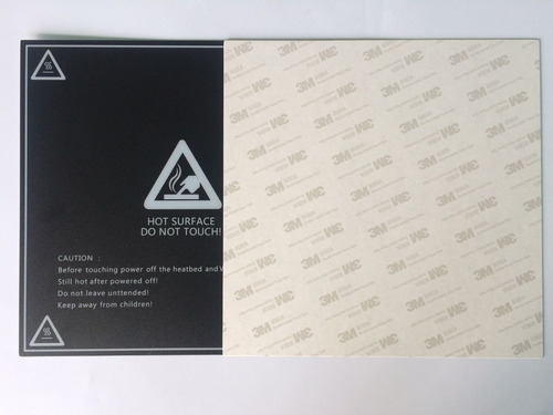 lamina simil buildtak 20x20 de adherencia cama impresora 3d