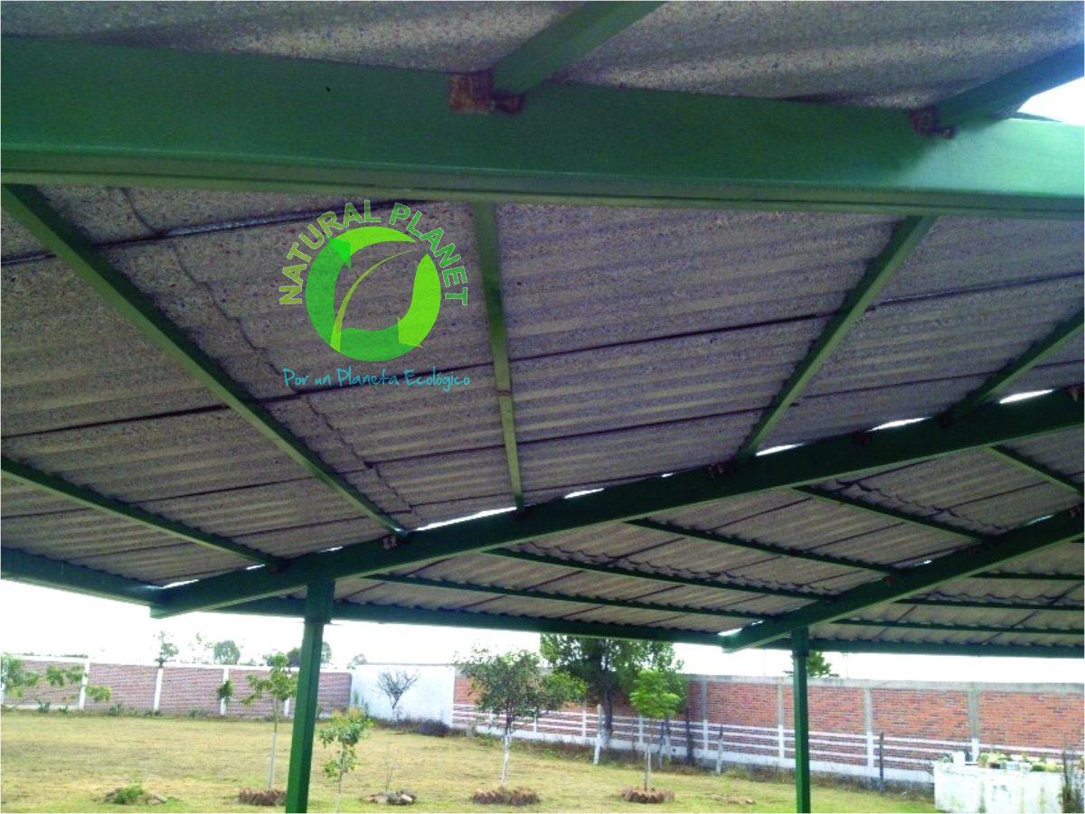 Lamina techo acanalada polialuminio precio x metro for Precio por metro cuadrado de construccion