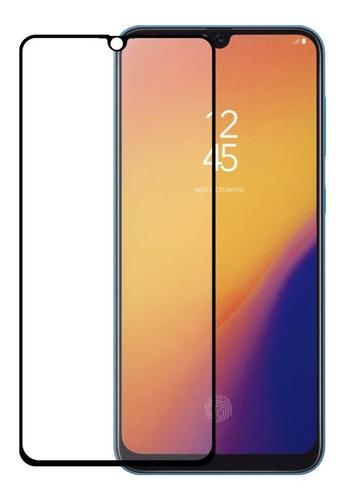 lamina vidrio 5d galaxy a70 ajuste perfecto instalada