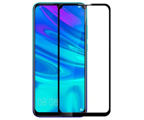 lamina vidrio 5d huawei p smart 2019 negra instalada