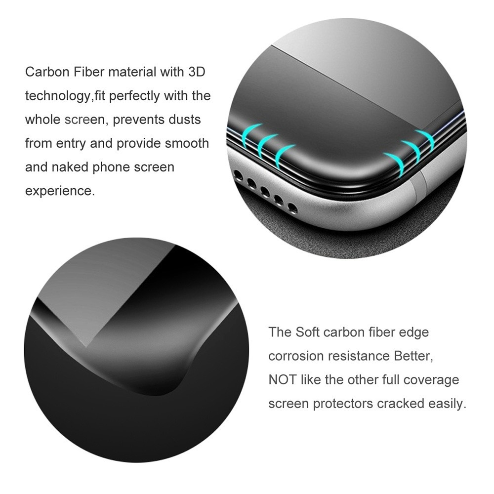 ad4963fa836 lamina vidrio templado anti reflejo / iphone 8 + /7 plus, 3d. Cargando zoom.