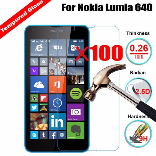 lamina vidrio templado para lumia 640