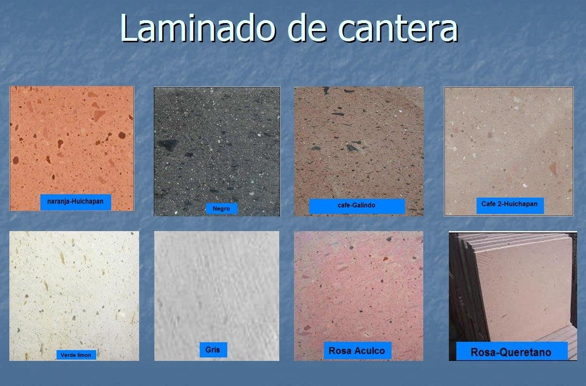 Laminado de cantera 100 natural varios colores y medida for Cual es el color piedra