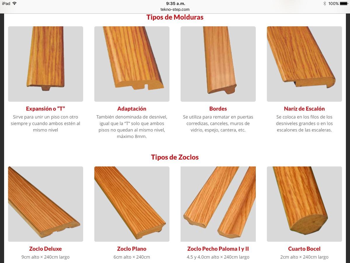 Piso laminado 7mm instalado incluye zoclo y bajo piso for Piso laminado precio