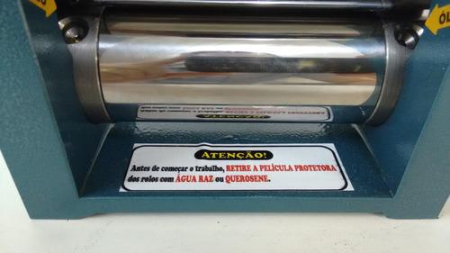 laminador manual ourives g3 só chapa.