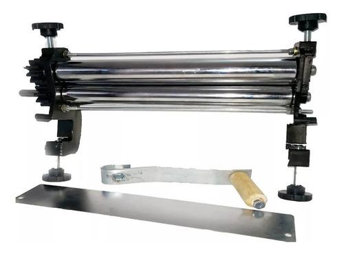 laminadora de masa manual bases en aluminio