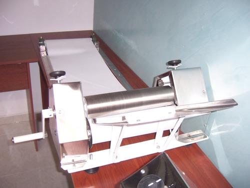 laminadora de masa manual para arepas