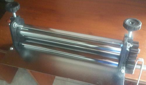 laminadora de masa. rodillo 30 cms.
