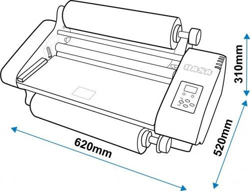 laminadora de rollo plastificadora dasa lm360 eco 330mm a3