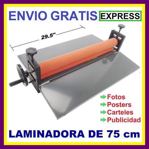 laminadora manual en frío 75 cm